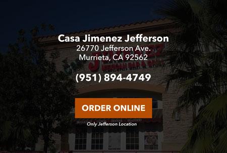 Casa Jimenez Mexican Restaurant Murrieta